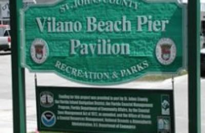 Vilano Beach Fishing Pier